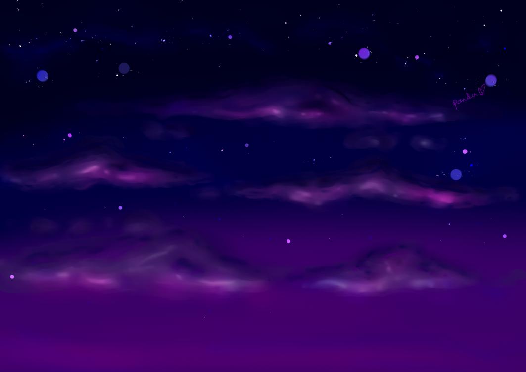 Purple Sky by PandabearSarah