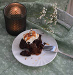 Brownie with salted Caramel by alina-ay