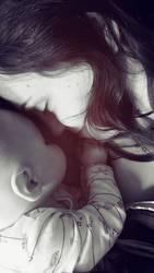 mother and daughter by alina-ay