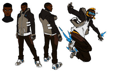 Pride /Greg civvies Character design sketch by TristanRoach