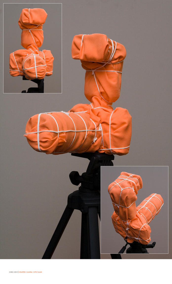 Wrapped Camera With Flash by seenew
