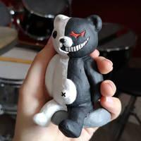 Monokuma figurine