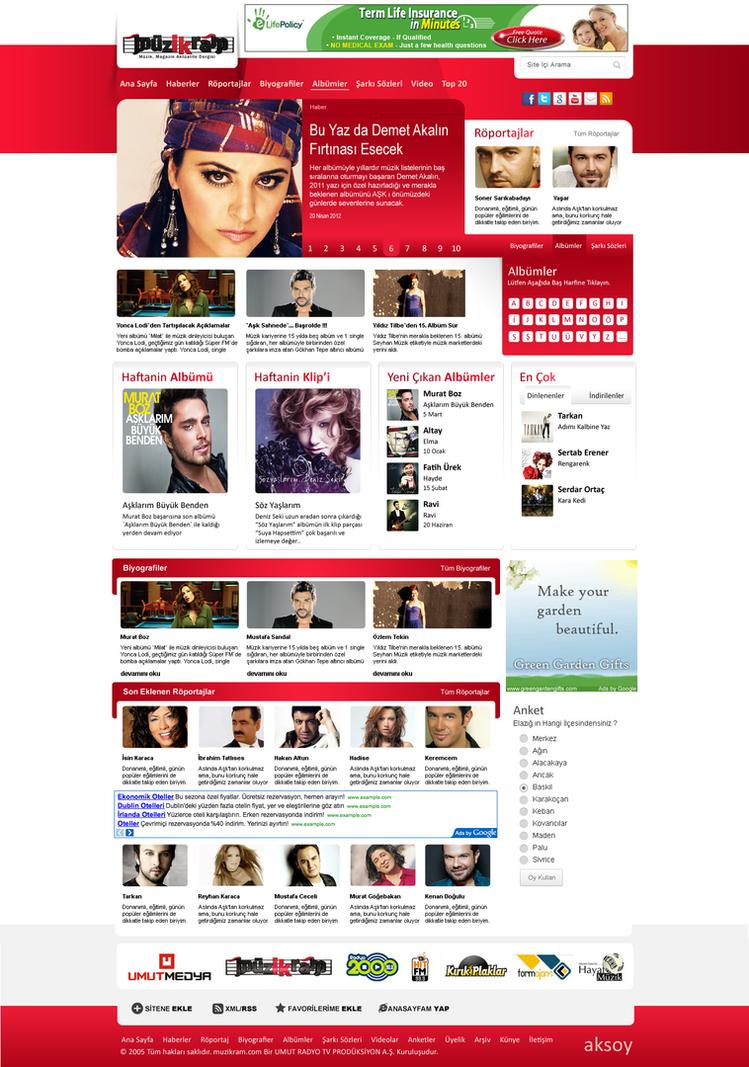 Muzikram Dergisi by fahrettinaksoy