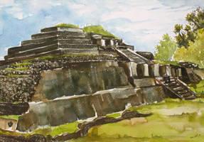 Ruinas de Tazumal by hugorivas