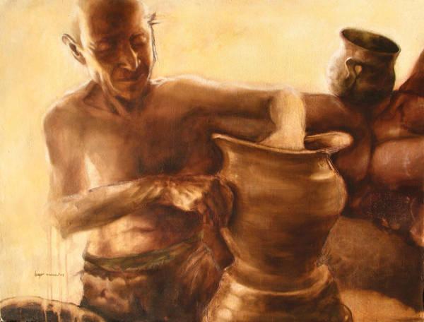 alfarero - potter by hugorivas