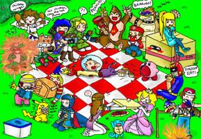 super smash picnic brawl by PB1593