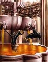 Caramel fountain by castrochew