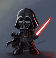 Darth Vader Nendoroid by aLDoDarK