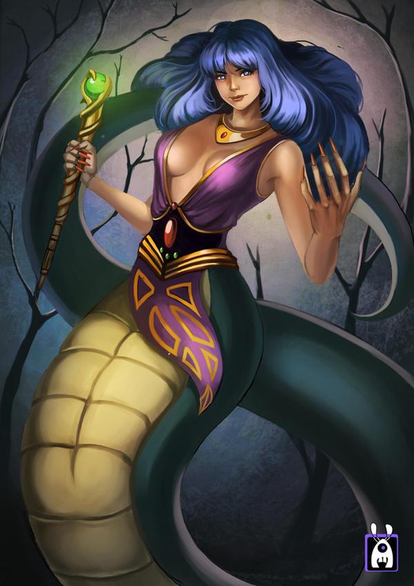 The Snakewoman by aLDoDarK