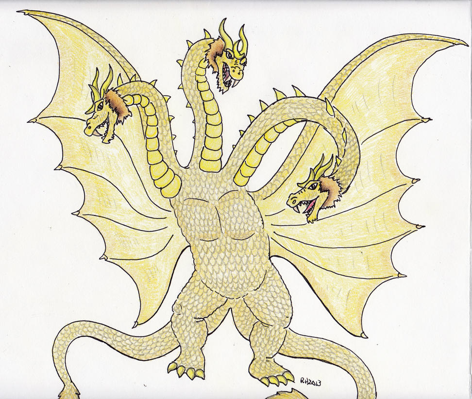 King Ghidorah by Kaijugame on DeviantArt