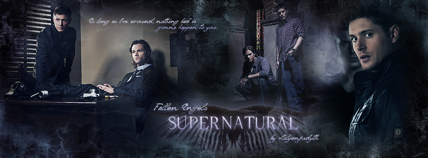 Supernatural - Fallen Angels (Facebook Banner) by lilyanjudyth
