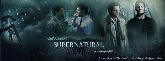 Supernatural - Best Friends (Facebook Banner)