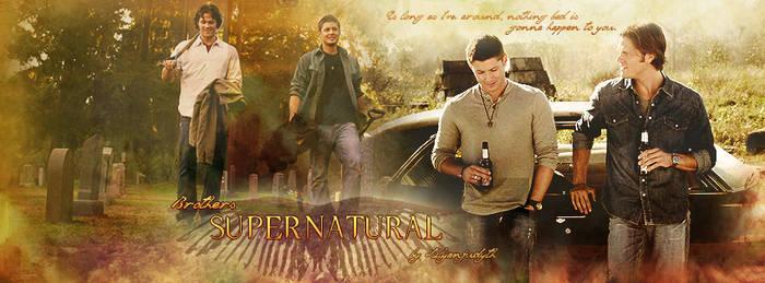 Supernatural - Brothers (Facebook Banner)