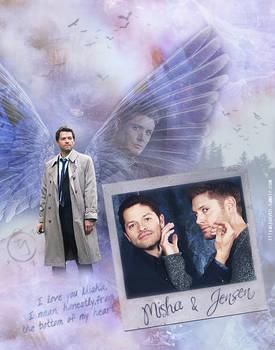 Misha and Jensen (Tumblr Images)