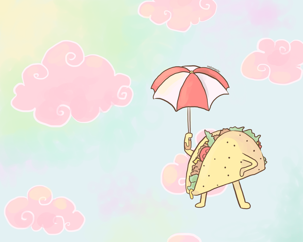Flying Taco by ALittleSeahorse
