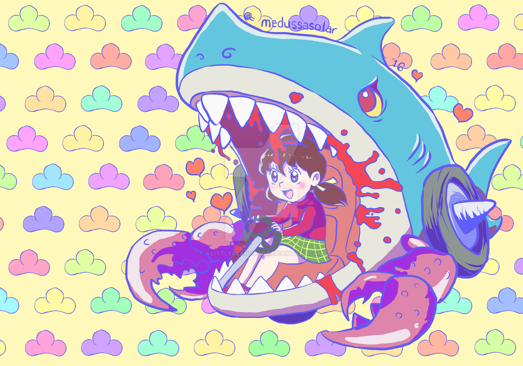 Devil Shark by ALittleSeahorse