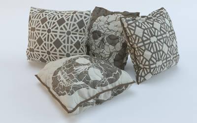 3D Modeling fashion Cushion