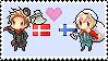Danmark x Suomi by n-o-r-d-i-c-k