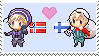 Norge x Suomi by n-o-r-d-i-c-k