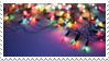 christmas lights stamp by Dunderbeist