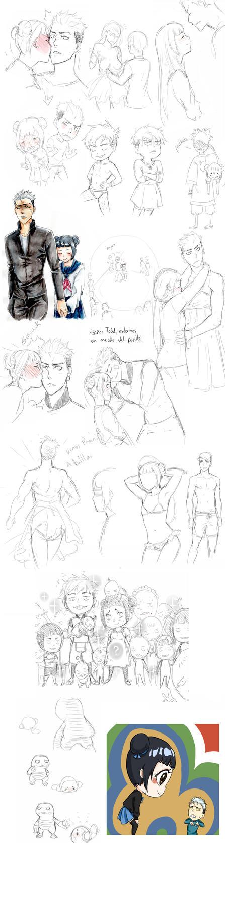 sketchdumpToddPaani by laql13
