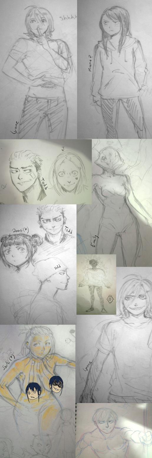 sketchdump tradicional 2 by laql13