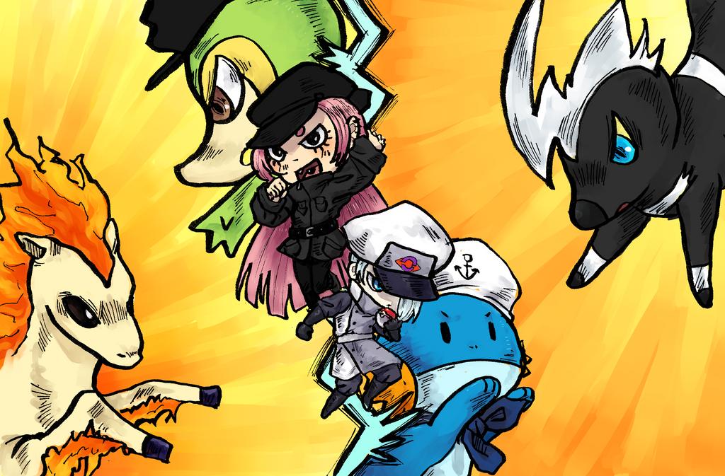 [PG] Actividad 1: primera captura pokemon by laql13