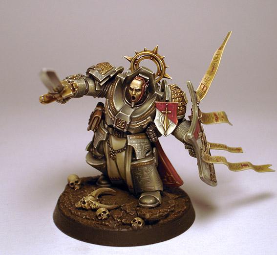 Grey Knights Grand Master Kaldor Draigo by kadiel1