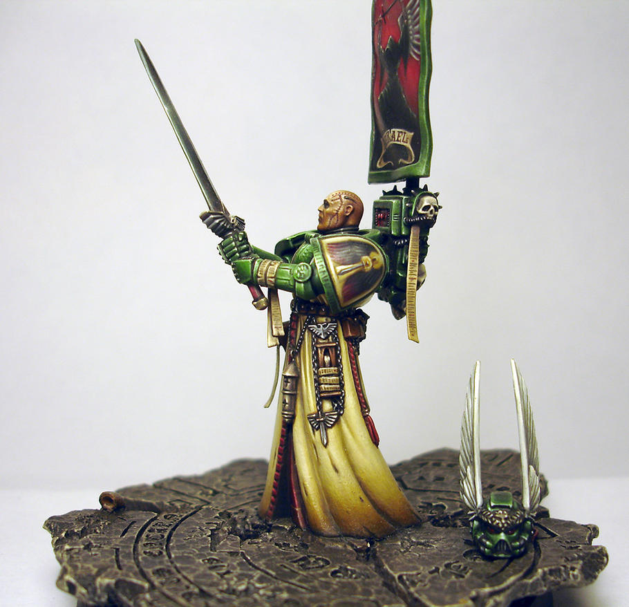 Rothand Studio: Azrael - Dark Angels Supreme Grand Master conversion