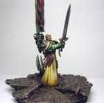 Azrael,Supreme Grand Master of the Dark Angels