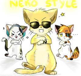 Neko Gangnam Style