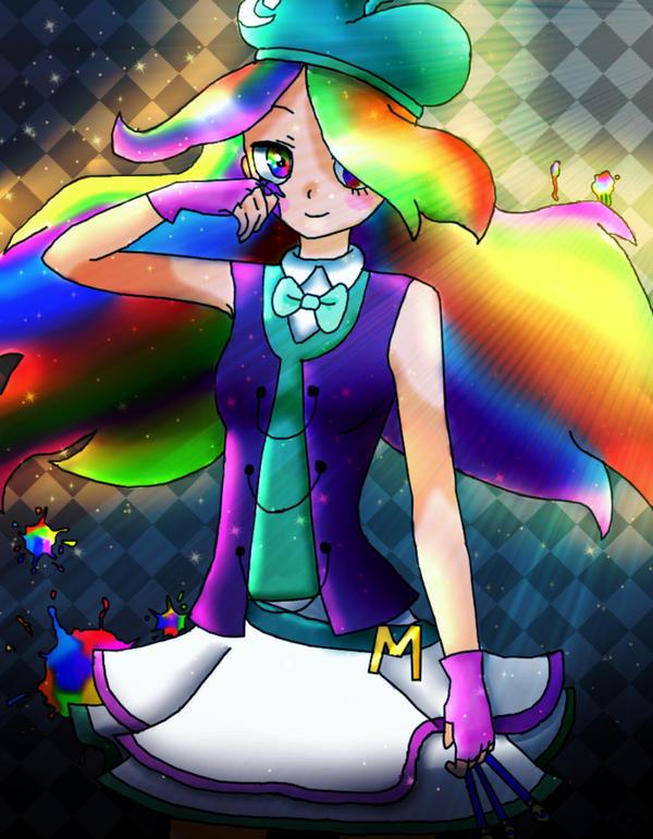 Magenta (Color Spectrum Manipulation power) by deepfaceglitter