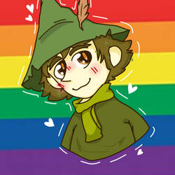 Snufkin is gay! by kitty0606