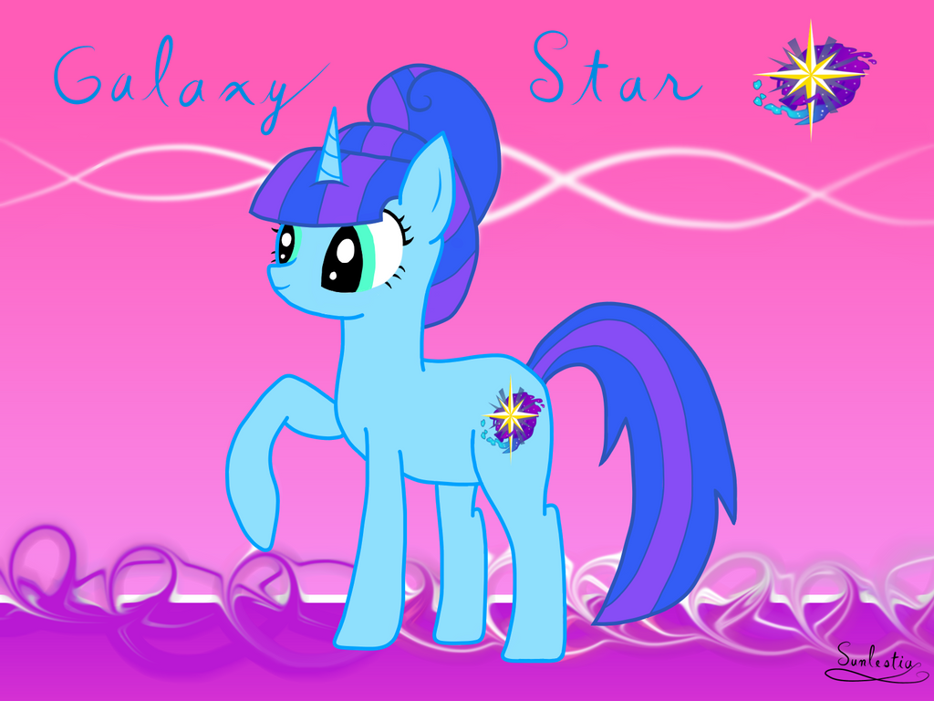 Galaxy Star from Remembrance! by CrystalCadenza