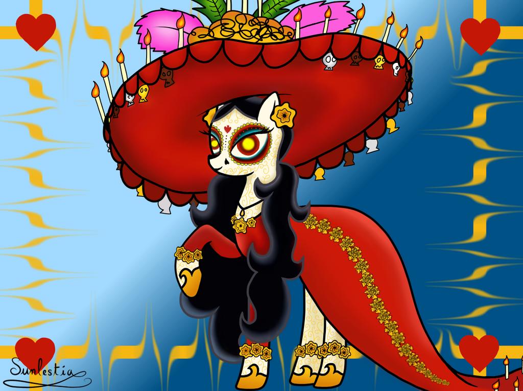 La Muerte as a Pony! by CrystalCadenza