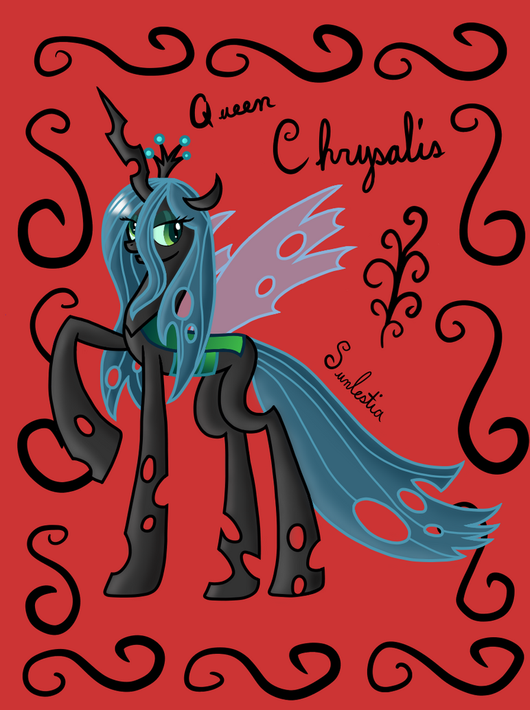 Queen Chrysalis by CrystalCadenza