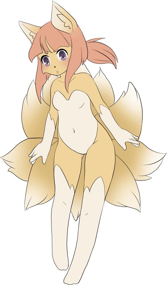 Kitsune Adoptable by Kurodoptables