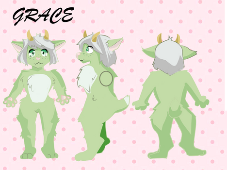 Ref sheet of GRACE for @kawaiibread43