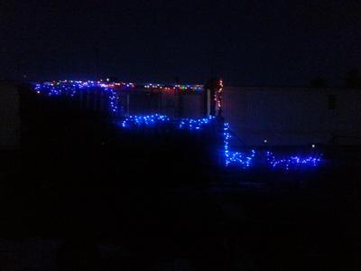 Holiday porch lights