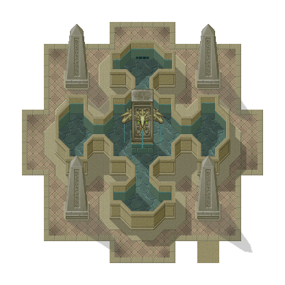 [RPG Maker XP] Tilesets by HyperSnake22 A_fountain_by_HyperSnake22