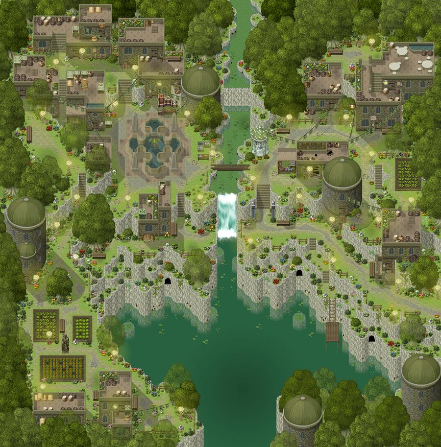 [RPG Maker XP] Tileset HyperSnake22 Halterock_Full_view_by_HyperSnake22