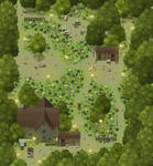 Woodcutter camp