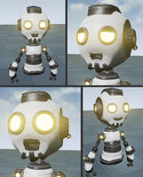 Hoverbot facial expression - ChaosOverride