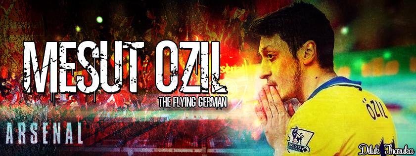 Mesut Ozil Arsenal 2013-14 By DilukTharuka10 On DeviantArt