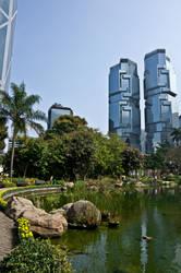 Hong Kong Park by Earthfeeler