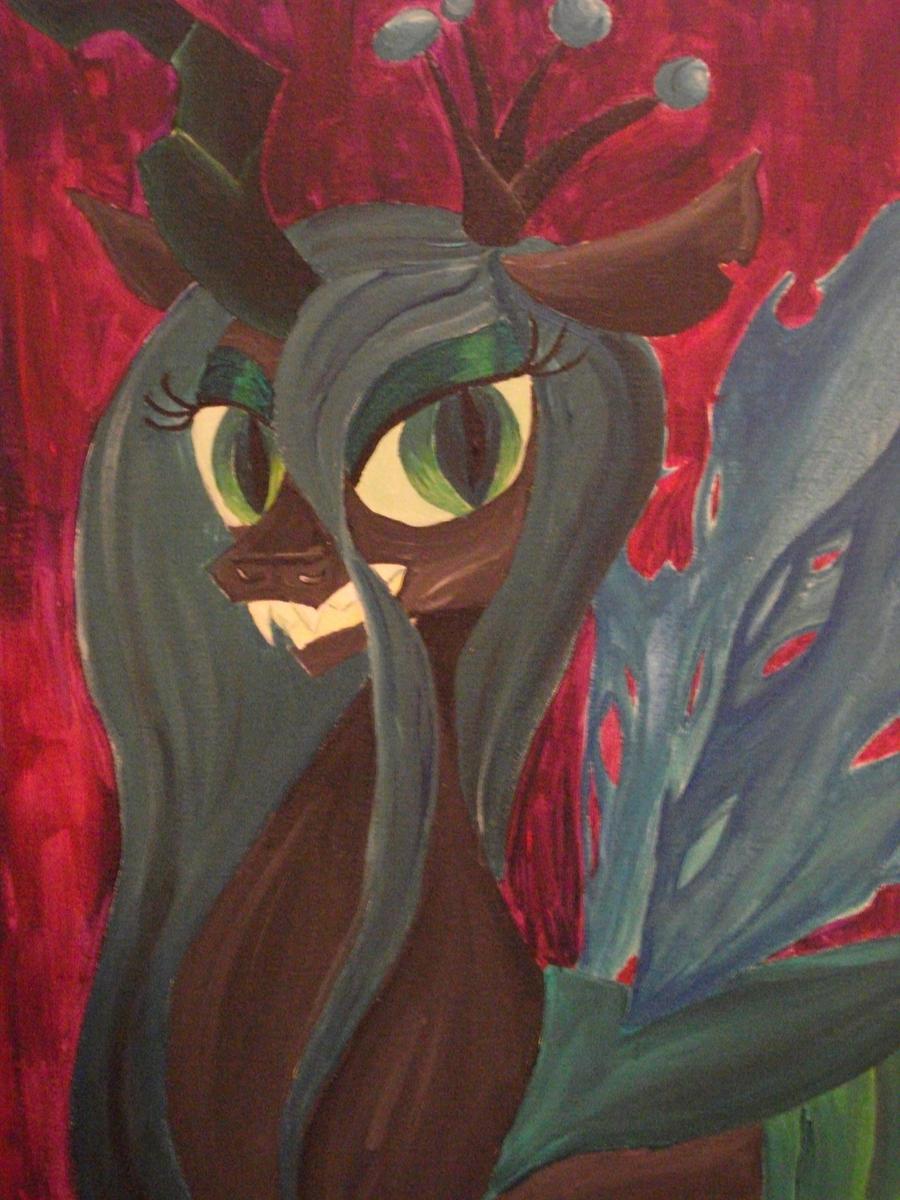 Changeling Queen Portrait by wholemilque