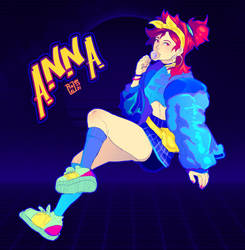 Synth Wave Anna !
