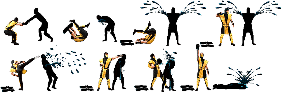 mortal kombat 9 scorpion fatalities. Scorpion+mortal+kombat+9+