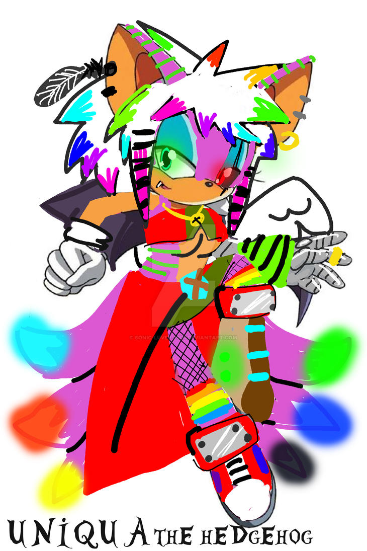 Uniqua Nephilim The Hedgehog Sonic Oc By Sonic Luver 2000 On