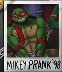 Mikey PRANKS Raph by PlexisOrion